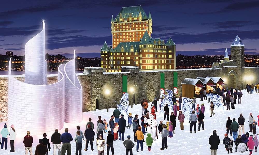 Festivities in Quebec City