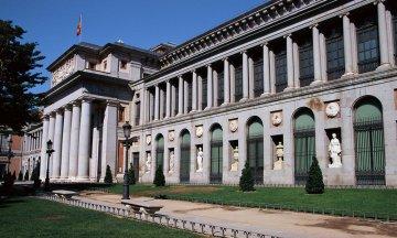 Entrance to the Museo del Prado, Madrid, Spain