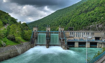 hydroelectric power-plant
