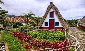 rural house in Santana Madeira, Portugal