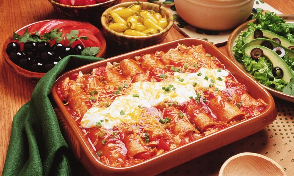 Enchilada Platter