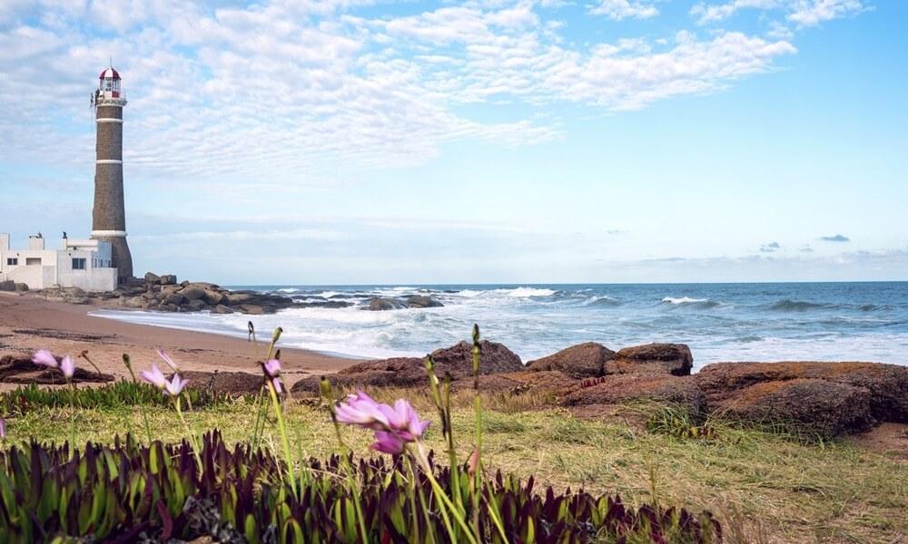 Jose Ignacio Lighthouse on the Punta Del Este coast in Uruguay