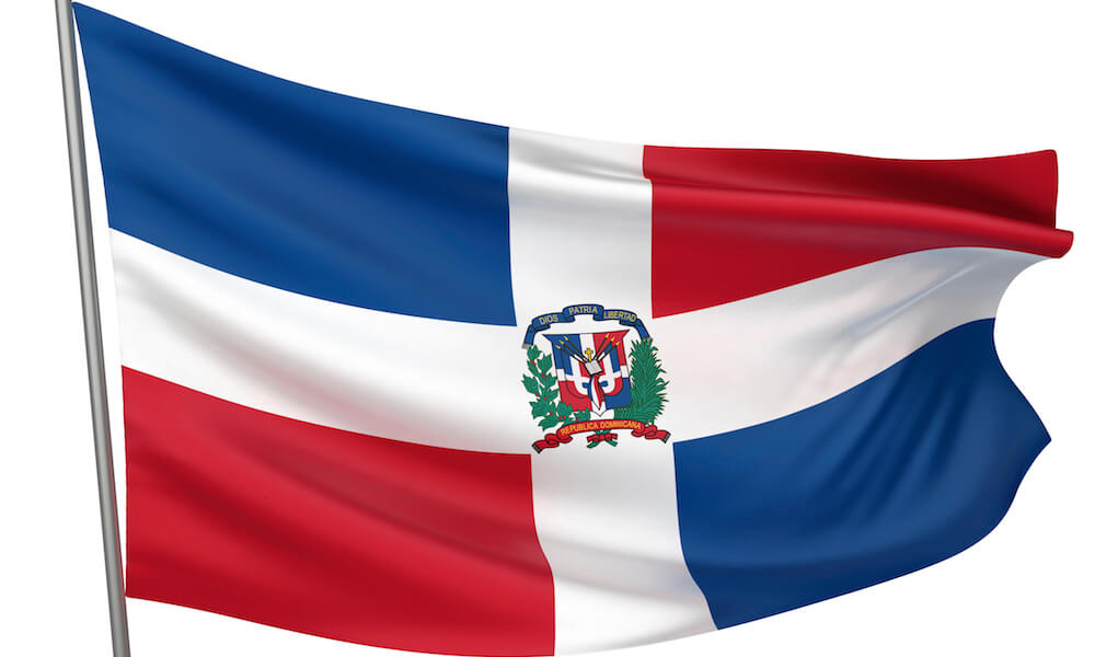Dominican Republic National Flag