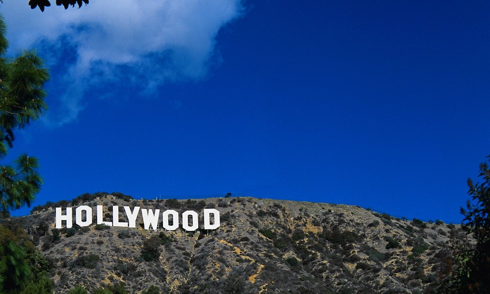 Hollywood Sign on Hillside