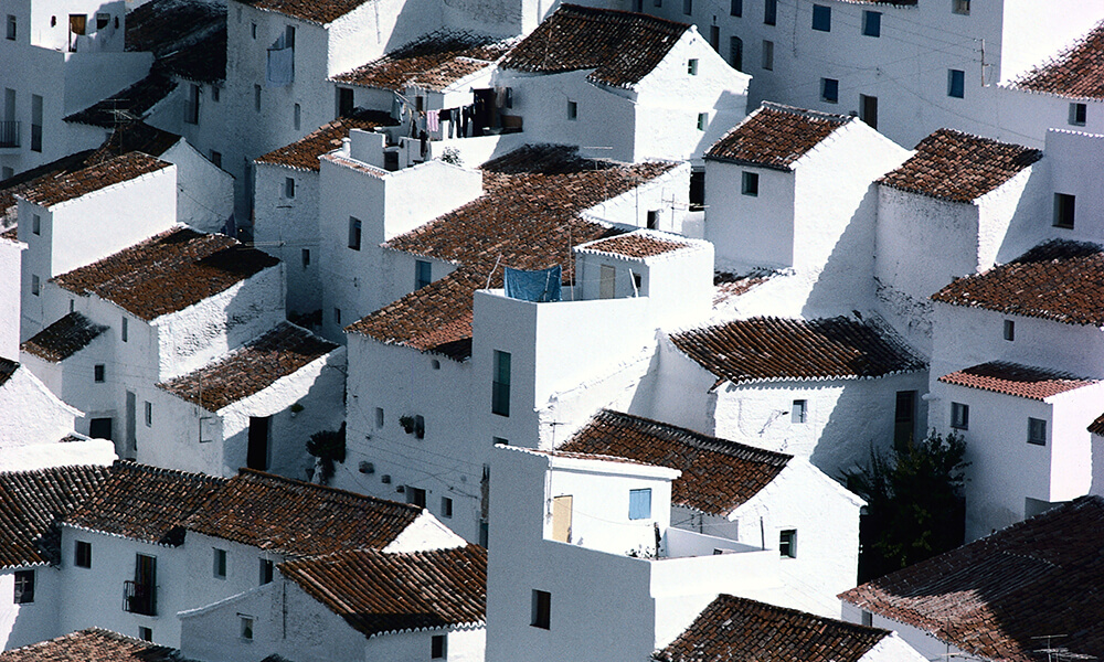 Whitewashed Spanish Houses