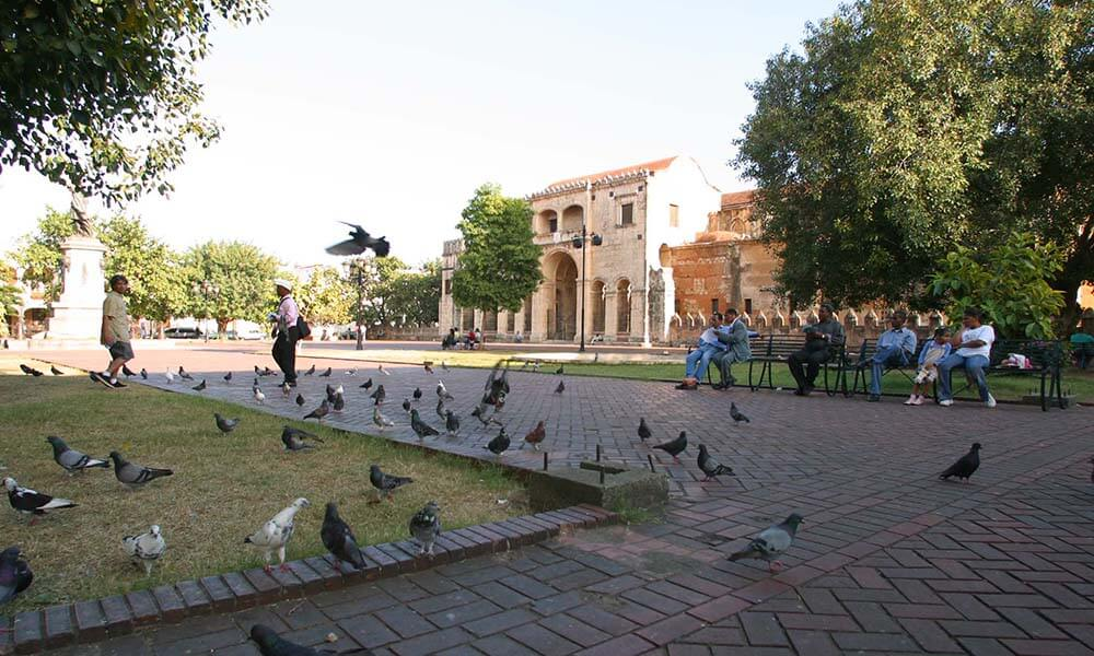 Square in Santo Domingo