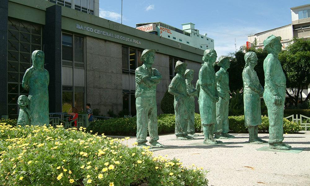 Monumentos de los campesinos, Costa Rica